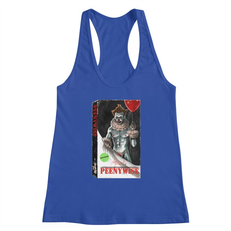 PEENYWISE VHS COVER Women's Tank by Stephen Draws's Artist Shop