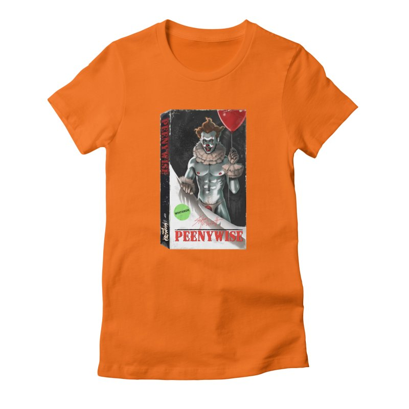 PEENYWISE VHS COVER Women's T-Shirt by Stephen Draws's Artist Shop