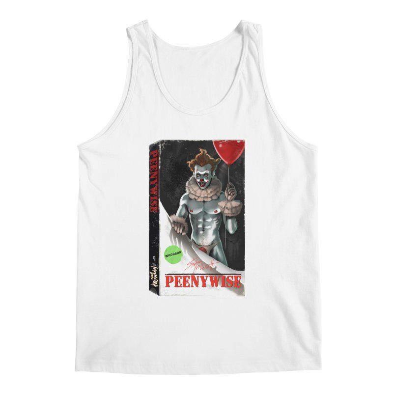 PEENYWISE VHS COVER Men's Tank by Stephen Draws's Artist Shop