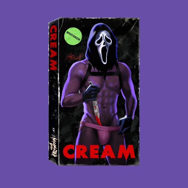 CREAM VHS COVER by Stephen Draws's Artist Shop