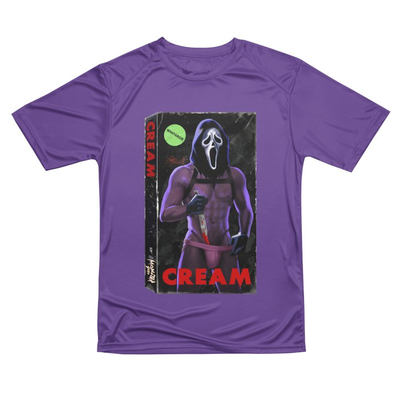 CREAM VHS COVER Women's Performance Unisex T-Shirt by Stephen Draws's Artist Shop
