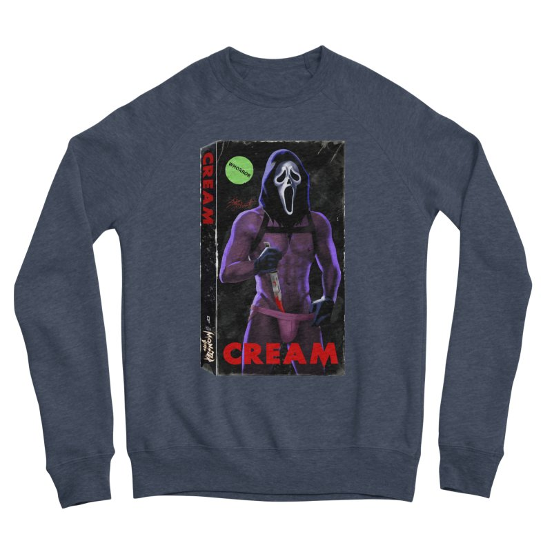CREAM VHS COVER Women's Sweatshirt by Stephen Draws's Artist Shop
