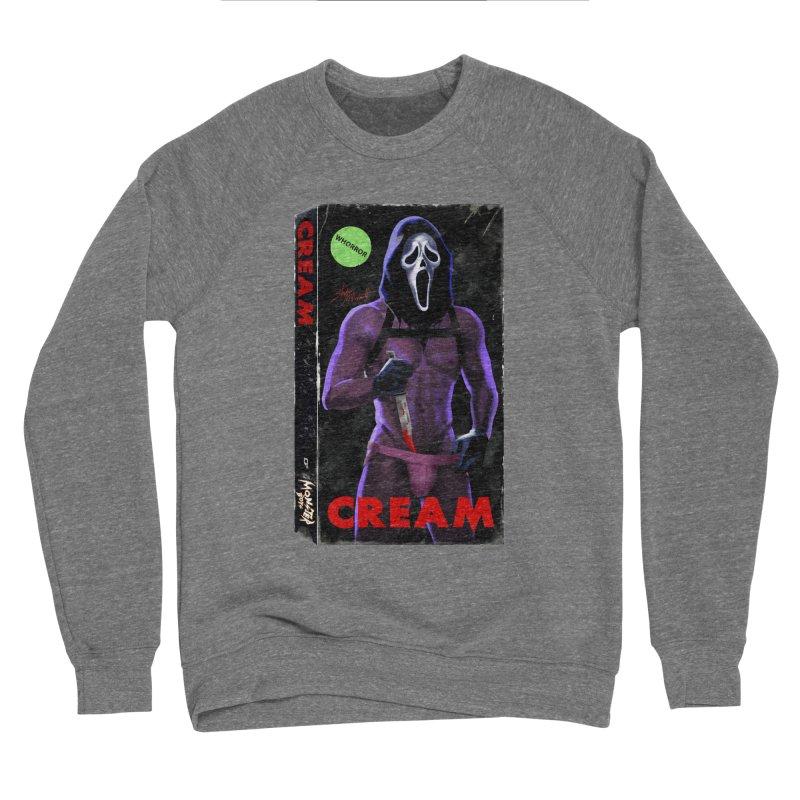 CREAM VHS COVER Women's Sponge Fleece Sweatshirt by Stephen Draws's Artist Shop