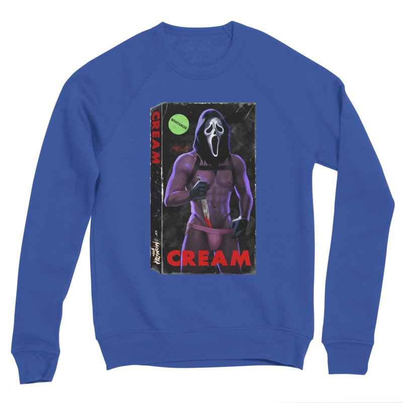 CREAM VHS COVER Women's Sweatshirt by Stephen Draws's Artist Shop