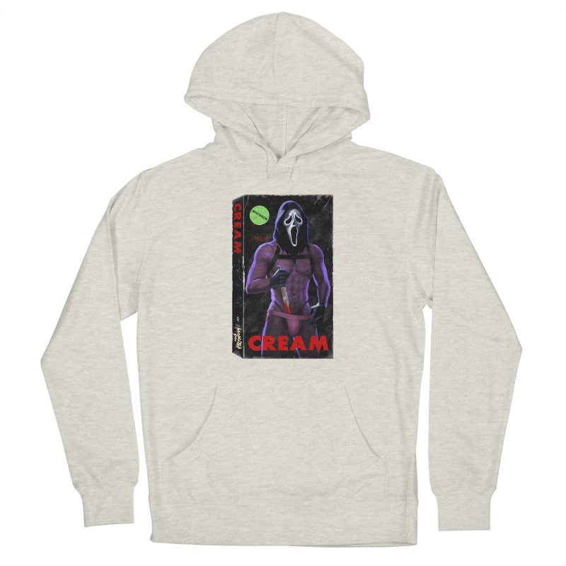 CREAM VHS COVER Women's Pullover Hoody by Stephen Draws's Artist Shop