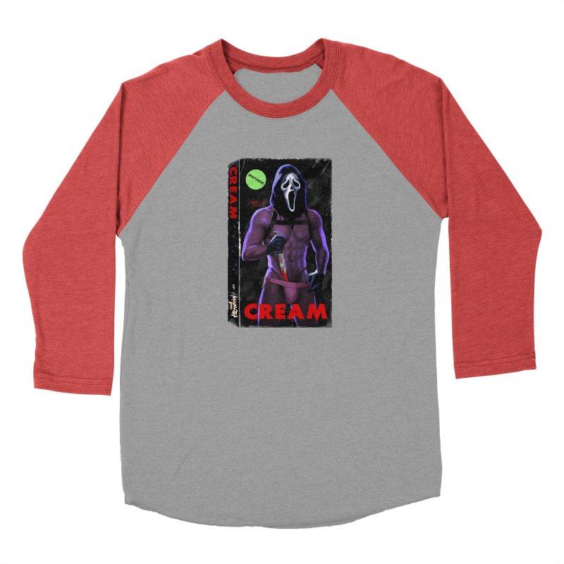 CREAM VHS COVER Men's Longsleeve T-Shirt by Stephen Draws's Artist Shop