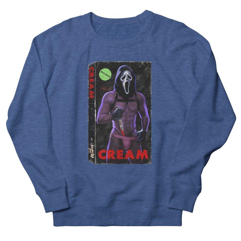 CREAM VHS COVER Men's Sweatshirt by Stephen Draws's Artist Shop