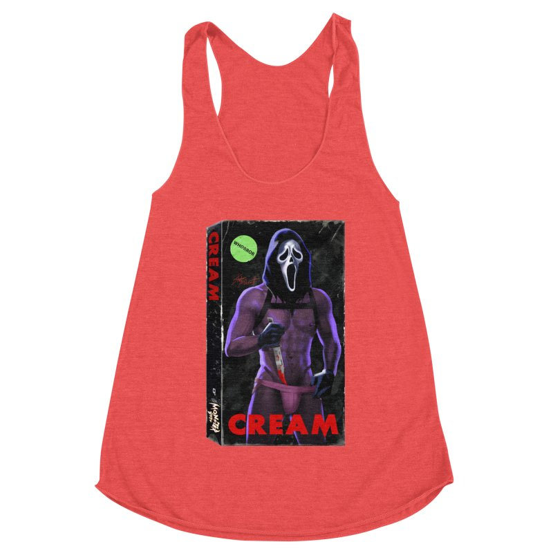 CREAM VHS COVER Women's Tank by Stephen Draws's Artist Shop