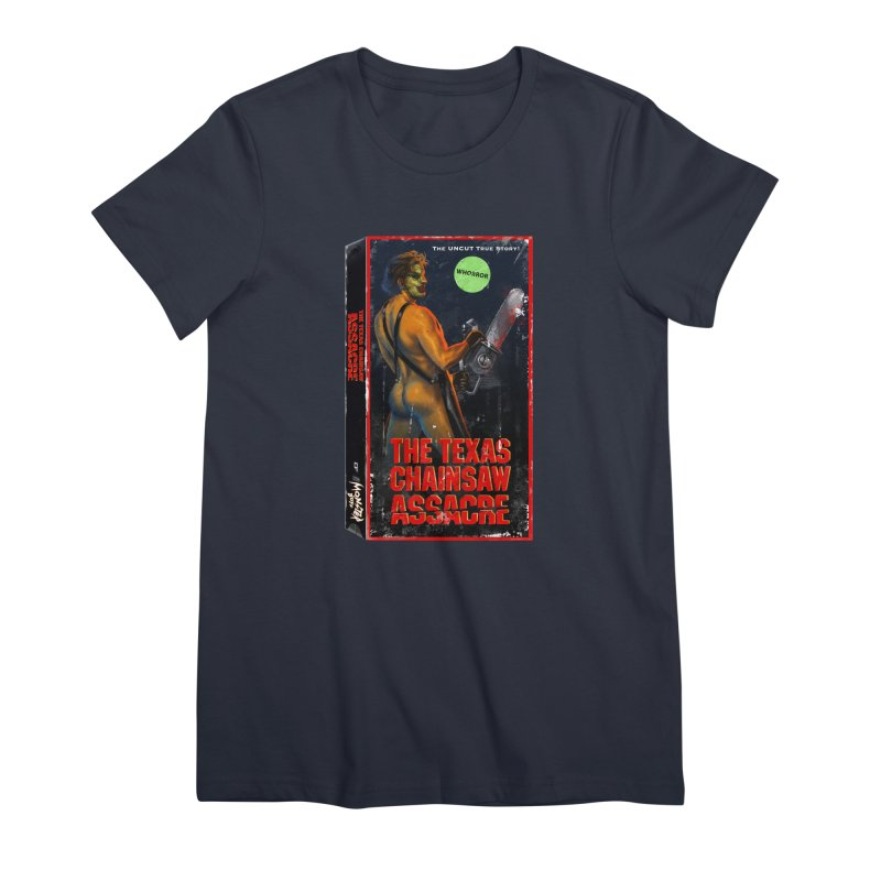 THE TEXAS CHAINSAW ASSACRE Women's Premium T-Shirt by Stephen Draws's Artist Shop