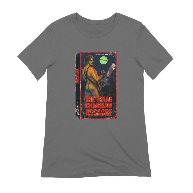 THE TEXAS CHAINSAW ASSACRE Women's Extra Soft T-Shirt by Stephen Draws's Artist Shop