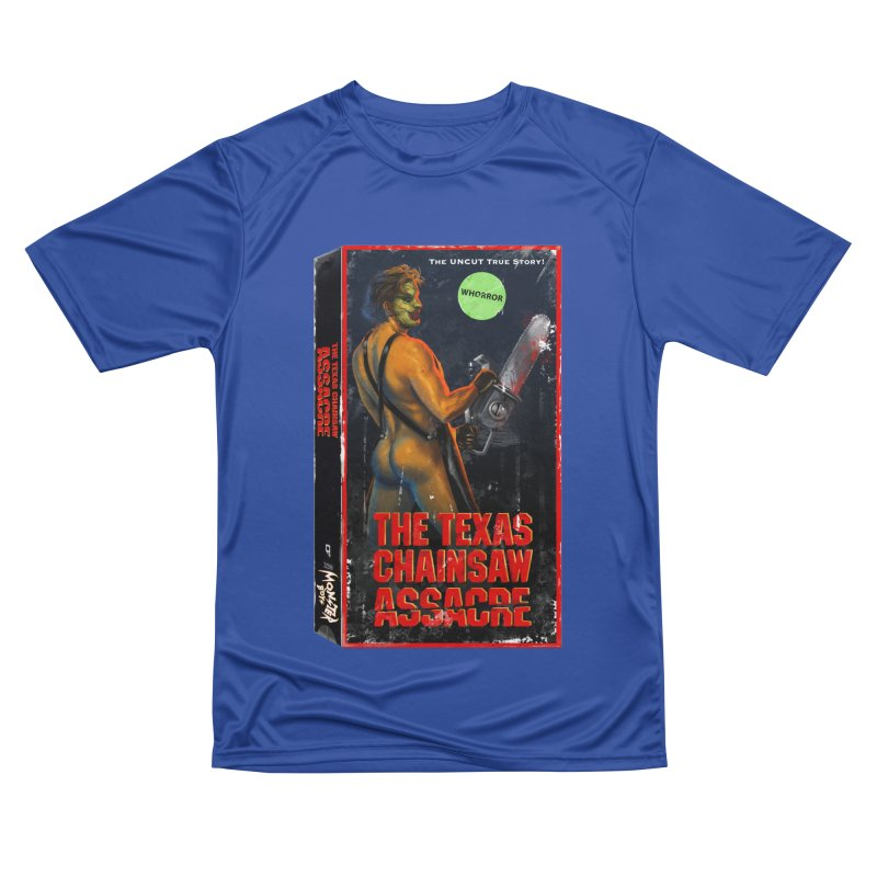 THE TEXAS CHAINSAW ASSACRE Men's Performance T-Shirt by Stephen Draws's Artist Shop