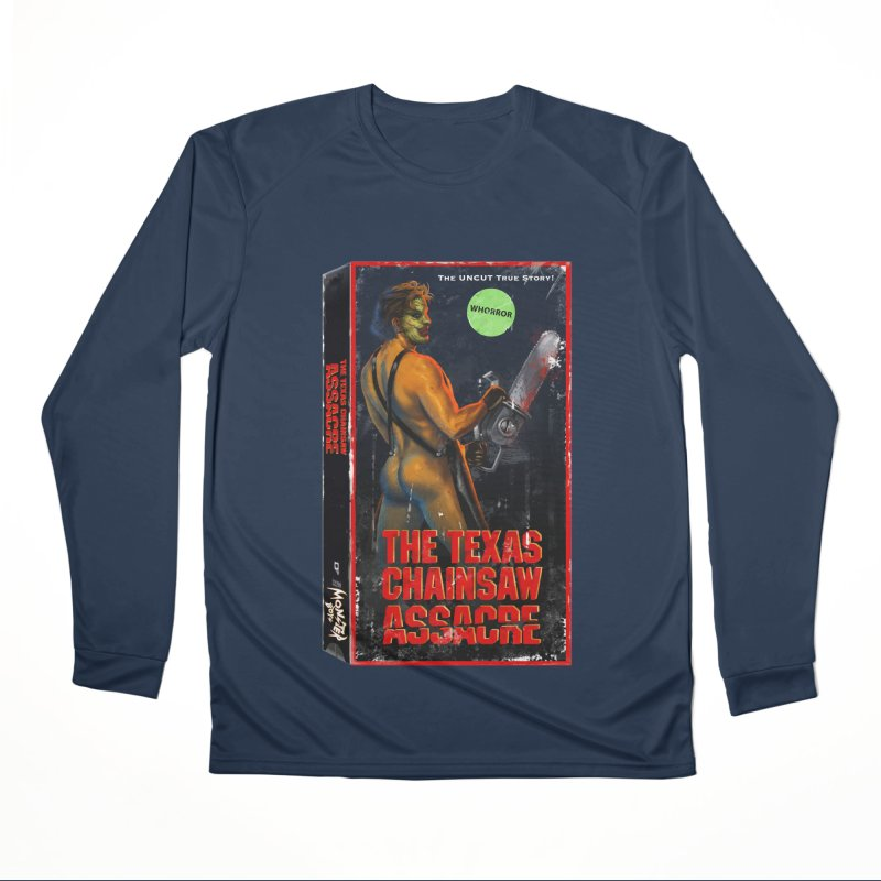THE TEXAS CHAINSAW ASSACRE Men's Performance Longsleeve T-Shirt by Stephen Draws's Artist Shop