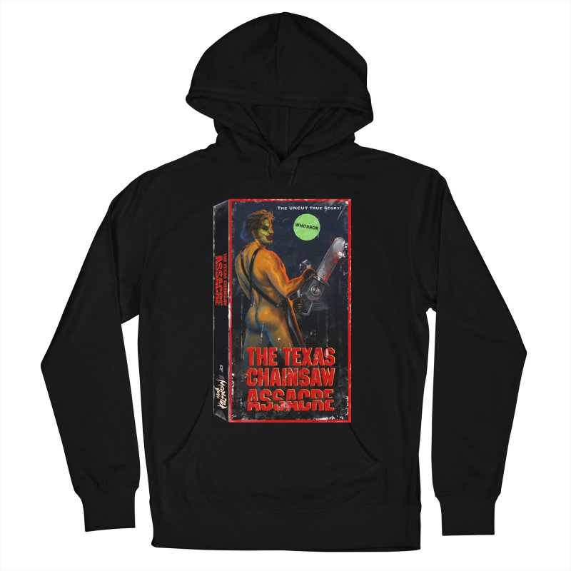 THE TEXAS CHAINSAW ASSACRE Men's French Terry Pullover Hoody by Stephen Draws's Artist Shop