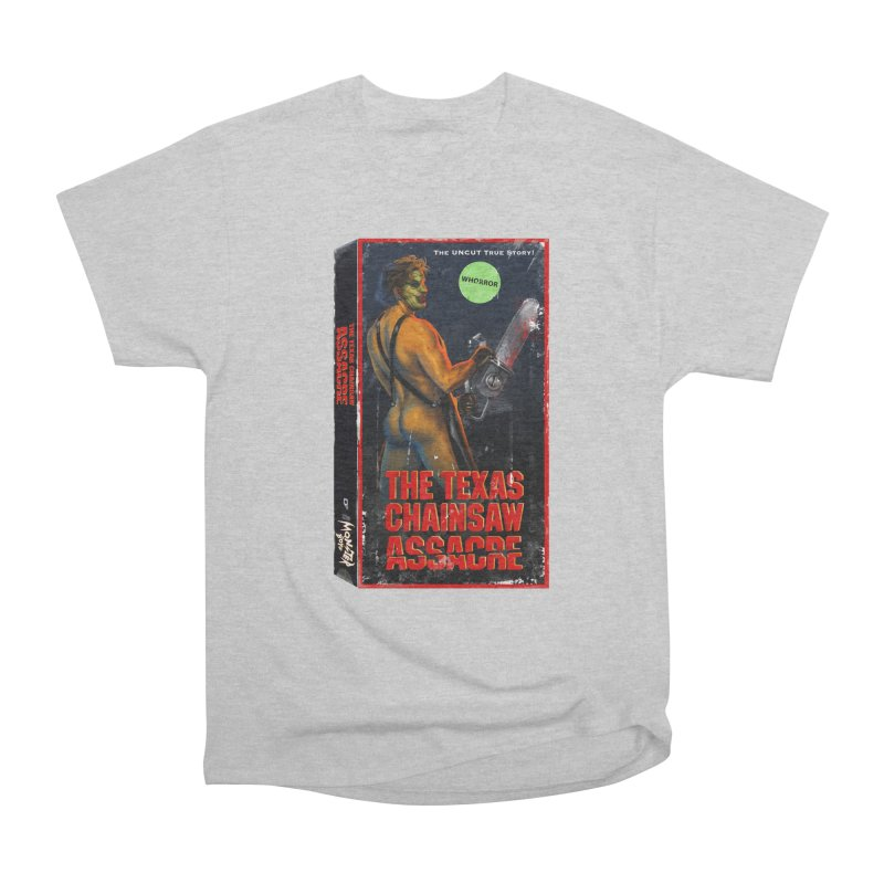 THE TEXAS CHAINSAW ASSACRE Women's Heavyweight Unisex T-Shirt by Stephen Draws's Artist Shop