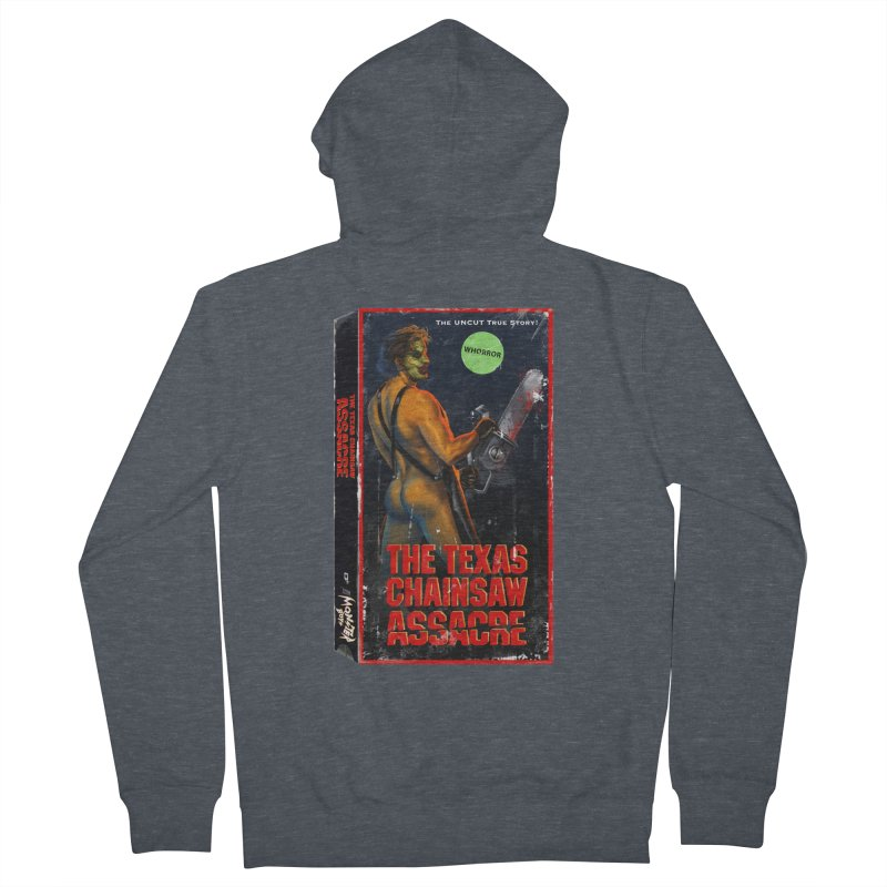 THE TEXAS CHAINSAW ASSACRE Women's French Terry Zip-Up Hoody by Stephen Draws's Artist Shop