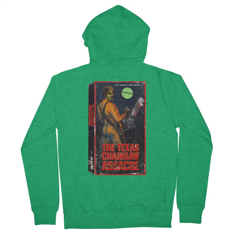THE TEXAS CHAINSAW ASSACRE Men's French Terry Zip-Up Hoody by Stephen Draws's Artist Shop