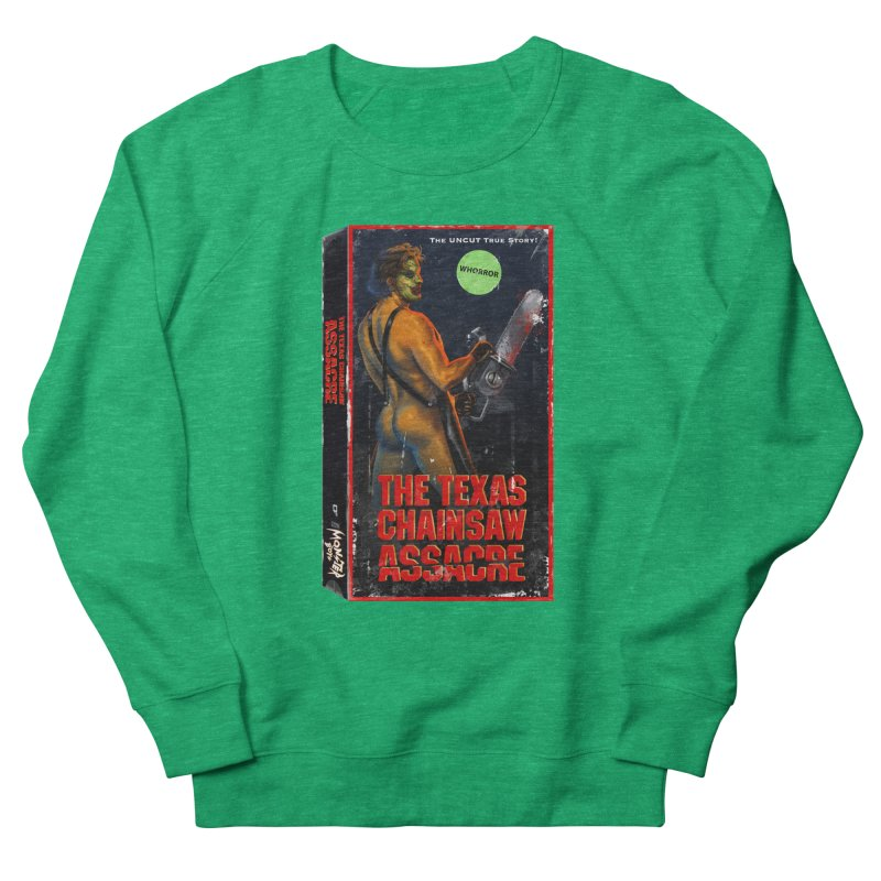 THE TEXAS CHAINSAW ASSACRE Women's French Terry Sweatshirt by Stephen Draws's Artist Shop