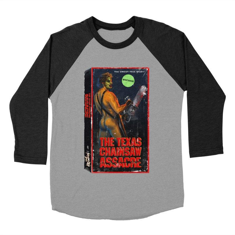 THE TEXAS CHAINSAW ASSACRE Women's Baseball Triblend Longsleeve T-Shirt by Stephen Draws's Artist Shop