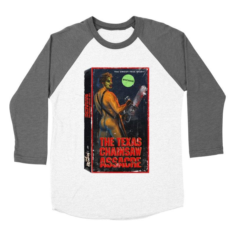 THE TEXAS CHAINSAW ASSACRE Men's Baseball Triblend Longsleeve T-Shirt by Stephen Draws's Artist Shop