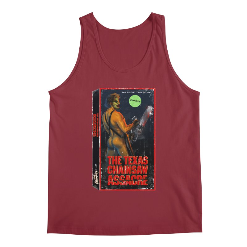 THE TEXAS CHAINSAW ASSACRE Men's Regular Tank by Stephen Draws's Artist Shop