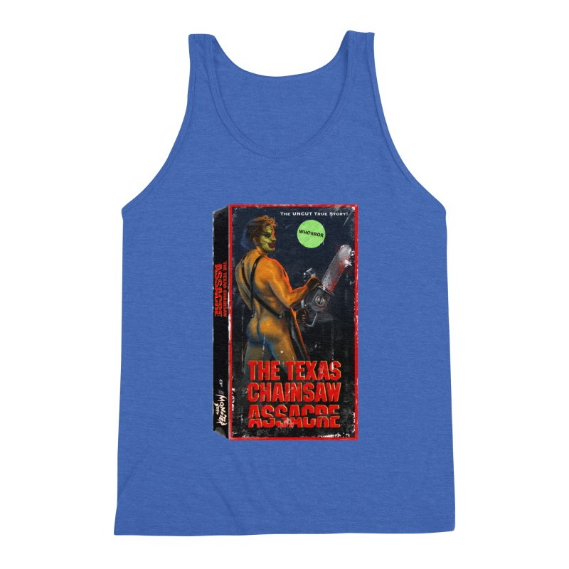 THE TEXAS CHAINSAW ASSACRE Men's Triblend Tank by Stephen Draws's Artist Shop