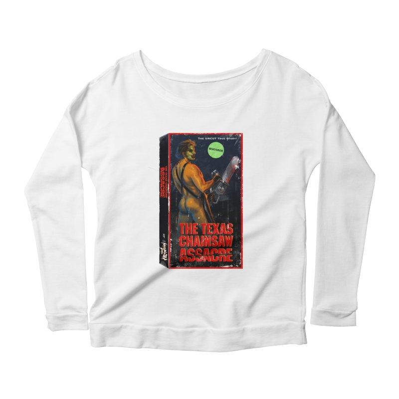 THE TEXAS CHAINSAW ASSACRE Women's Scoop Neck Longsleeve T-Shirt by Stephen Draws's Artist Shop
