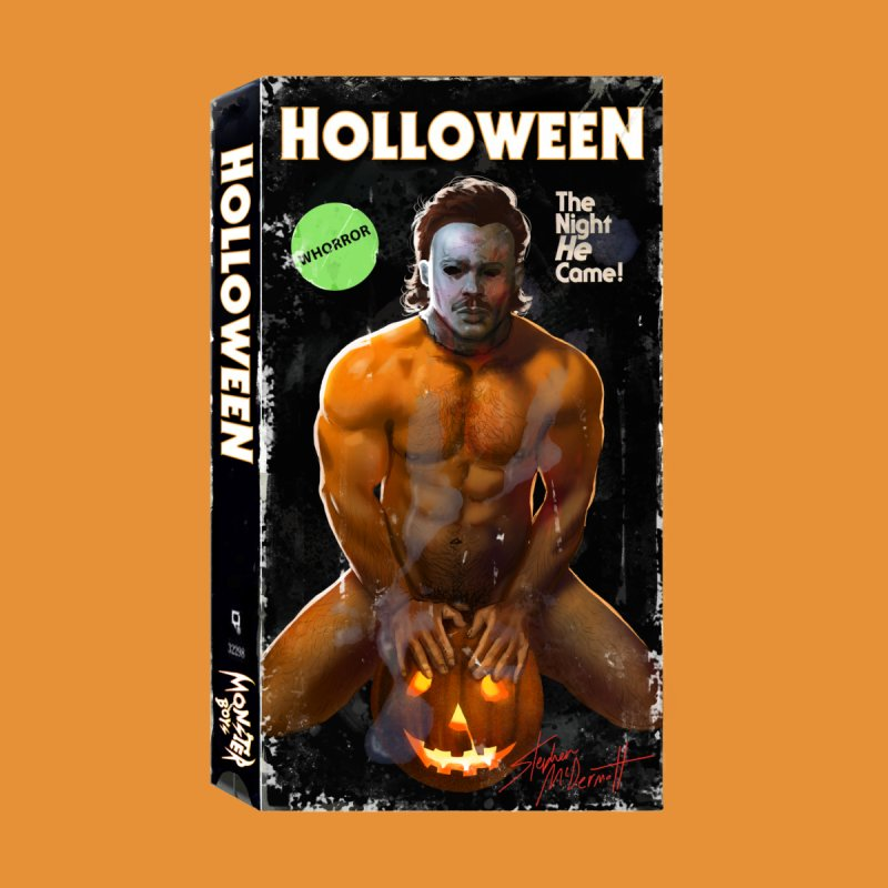 HOLLOWEEN VHS COVER by Stephen Draws's Artist Shop