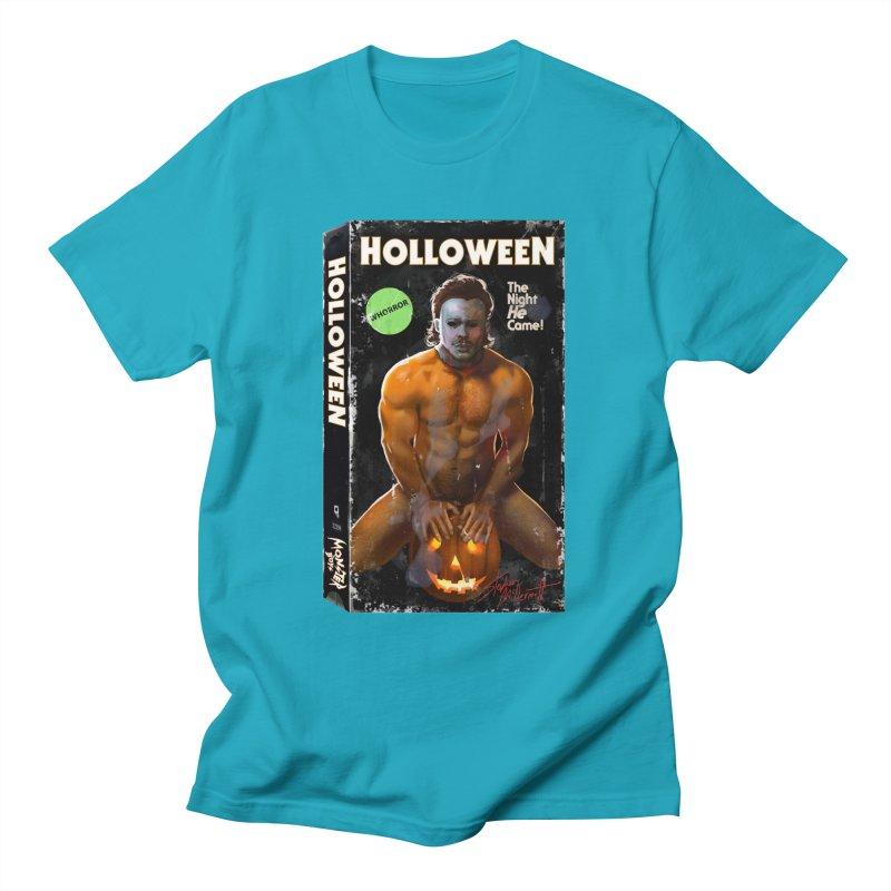 HOLLOWEEN VHS COVER Men's T-Shirt by Stephen Draws's Artist Shop