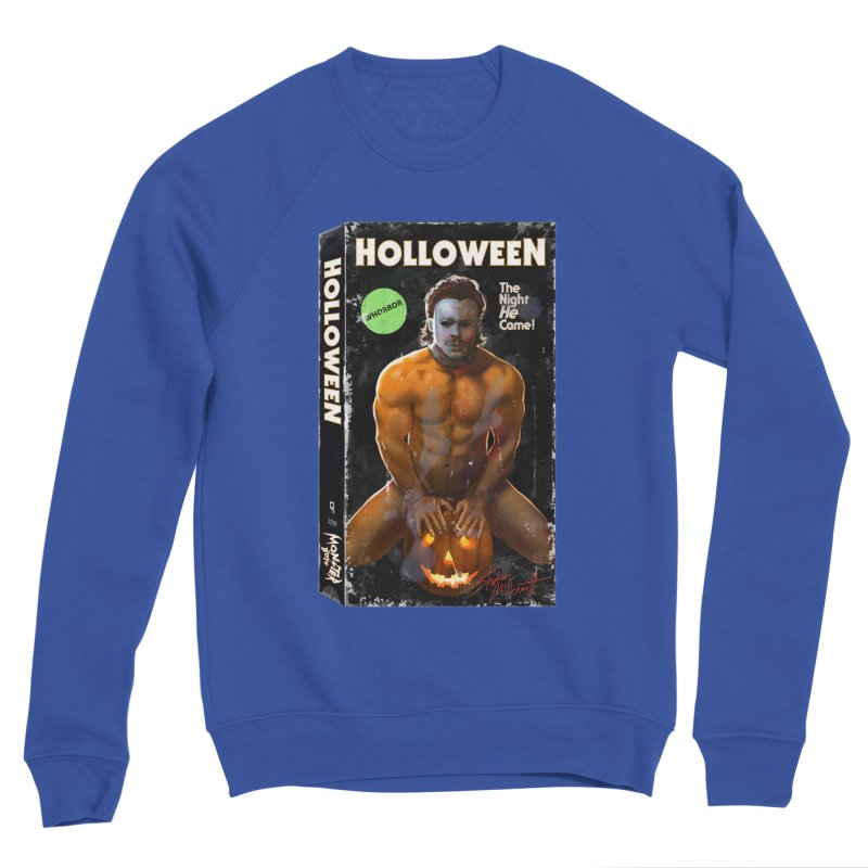HOLLOWEEN VHS COVER Women's Sweatshirt by Stephen Draws's Artist Shop