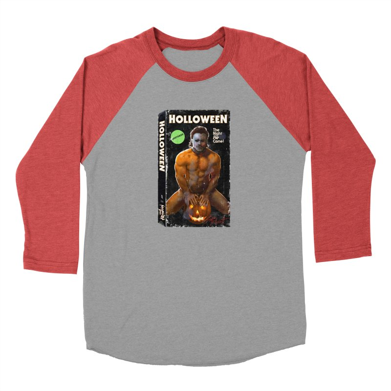 HOLLOWEEN VHS COVER Men's Longsleeve T-Shirt by Stephen Draws's Artist Shop