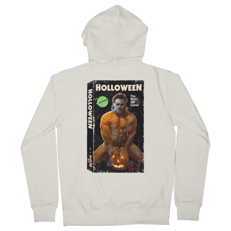HOLLOWEEN VHS COVER Women's Zip-Up Hoody by Stephen Draws's Artist Shop