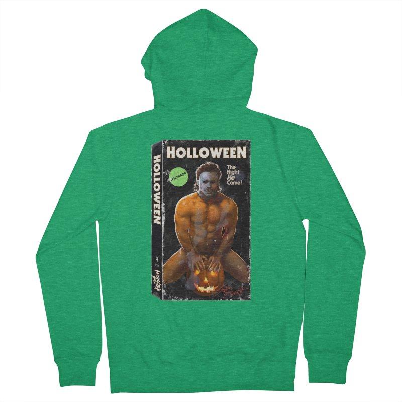 HOLLOWEEN VHS COVER Men's Zip-Up Hoody by Stephen Draws's Artist Shop