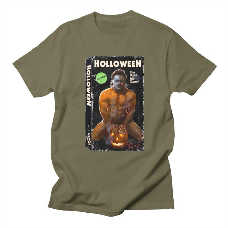 HOLLOWEEN VHS COVER Women's Regular Unisex T-Shirt by Stephen Draws's Artist Shop
