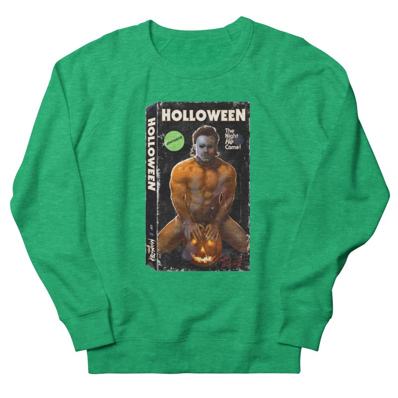 HOLLOWEEN VHS COVER Women's Sweatshirt by Stephen Draws's Artist Shop