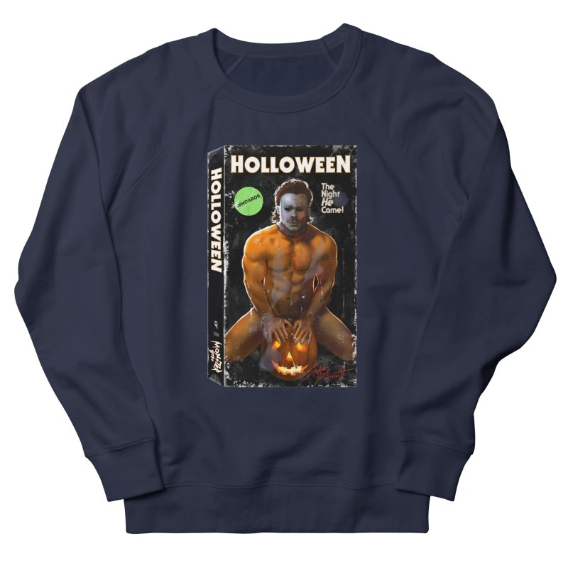 HOLLOWEEN VHS COVER Women's French Terry Sweatshirt by Stephen Draws's Artist Shop