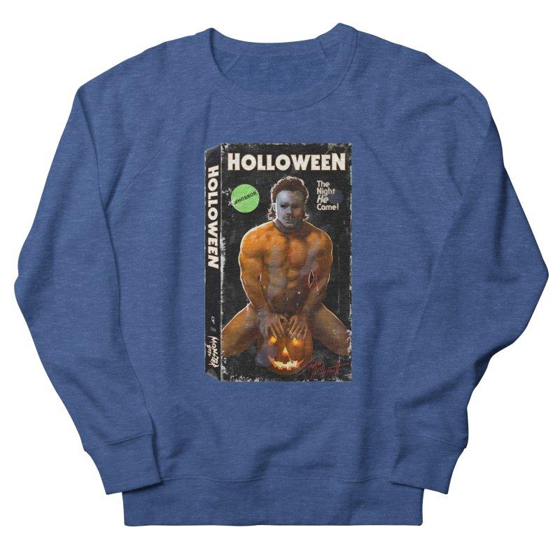 HOLLOWEEN VHS COVER Men's Sweatshirt by Stephen Draws's Artist Shop