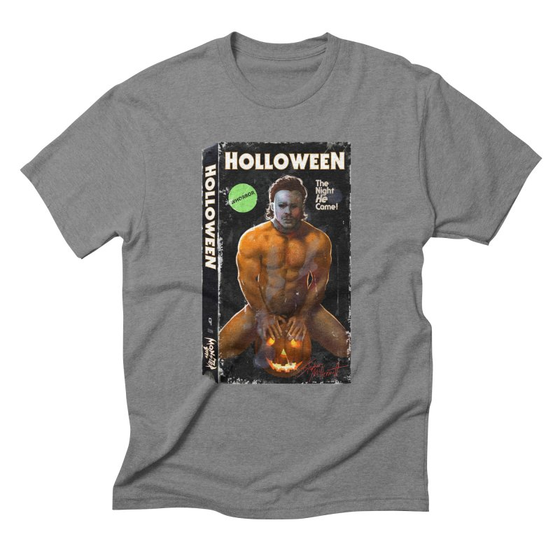 HOLLOWEEN VHS COVER Men's Triblend T-Shirt by Stephen Draws's Artist Shop