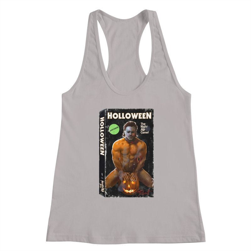 HOLLOWEEN VHS COVER Women's Tank by Stephen Draws's Artist Shop