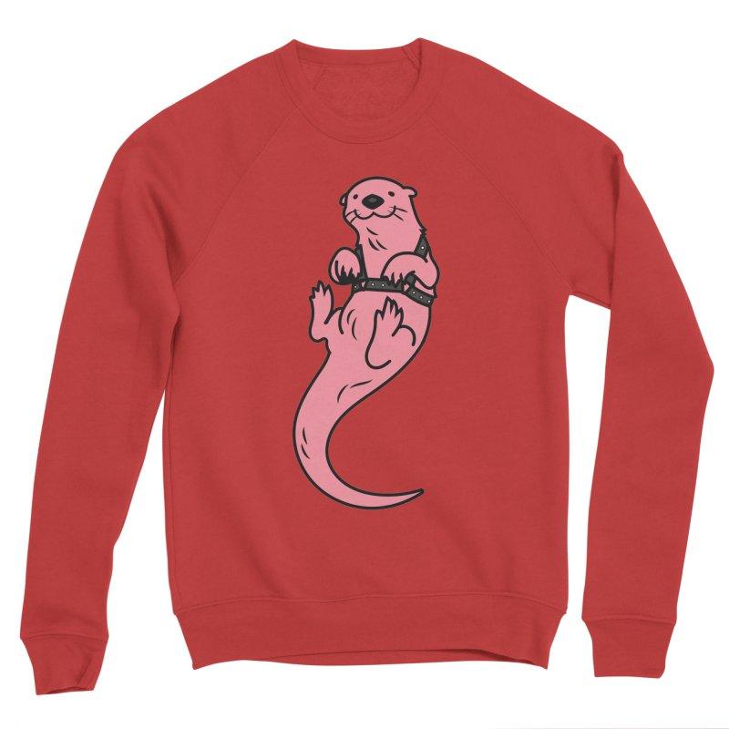 OTTER BOI Men's Sponge Fleece Sweatshirt by Stephen Draws's Artist Shop