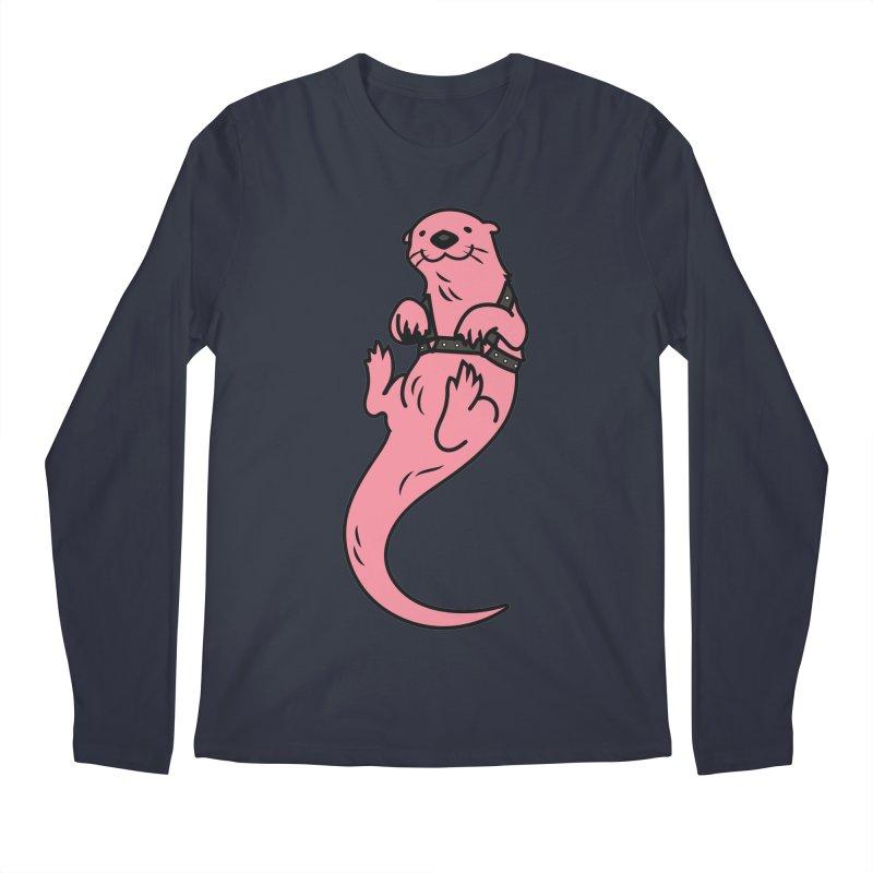 OTTER BOI Men's Longsleeve T-Shirt by Stephen Draws's Artist Shop