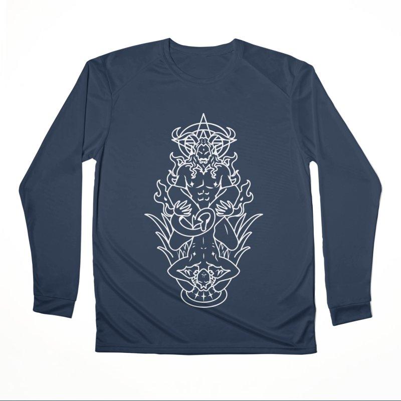 MORNINGSTAR DELIGHT WHITE Men's Performance Longsleeve T-Shirt by Stephen Draws's Artist Shop