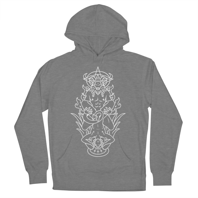 MORNINGSTAR DELIGHT WHITE Women's French Terry Pullover Hoody by Stephen Draws's Artist Shop