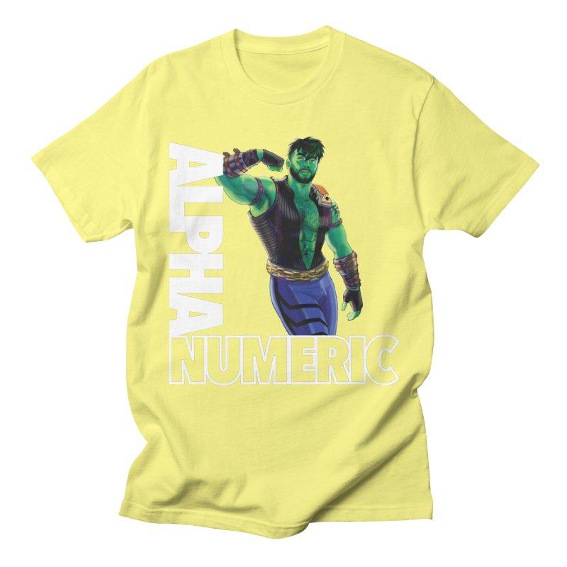 ALPHANUMERIC Men's T-Shirt by Stephen Draws's Artist Shop