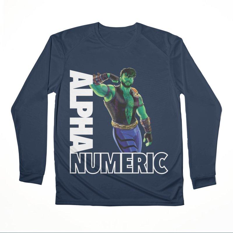 ALPHANUMERIC Men's Longsleeve T-Shirt by Stephen Draws's Artist Shop