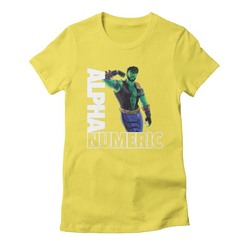 ALPHANUMERIC Women's T-Shirt by Stephen Draws's Artist Shop