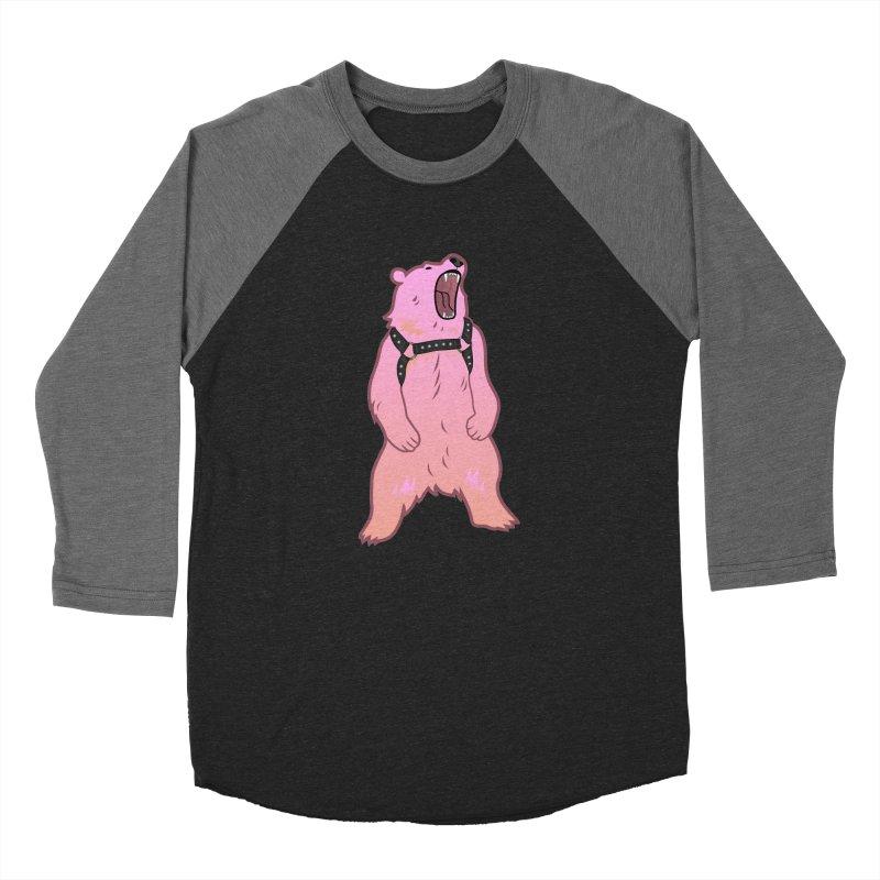Daddy Bear Women's Baseball Triblend Longsleeve T-Shirt by Stephen Draws's Artist Shop