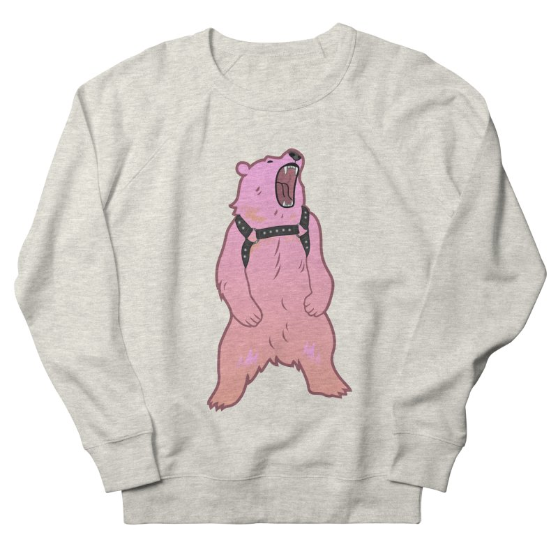Daddy Bear Women's French Terry Sweatshirt by stephendraws's Artist Shop