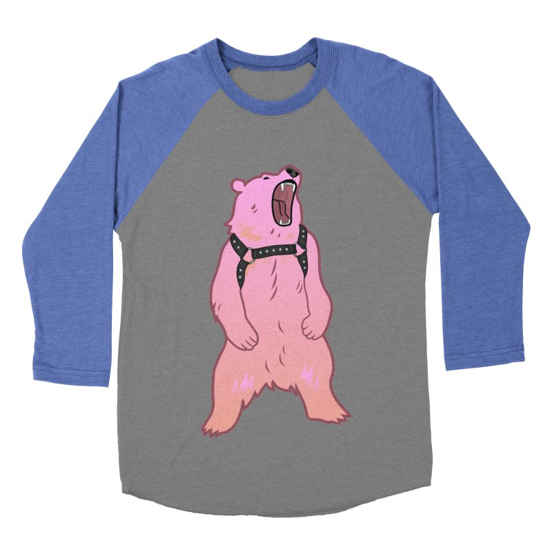 Daddy Bear Women's Baseball Triblend Longsleeve T-Shirt by Stephen Draws's Artist Shop