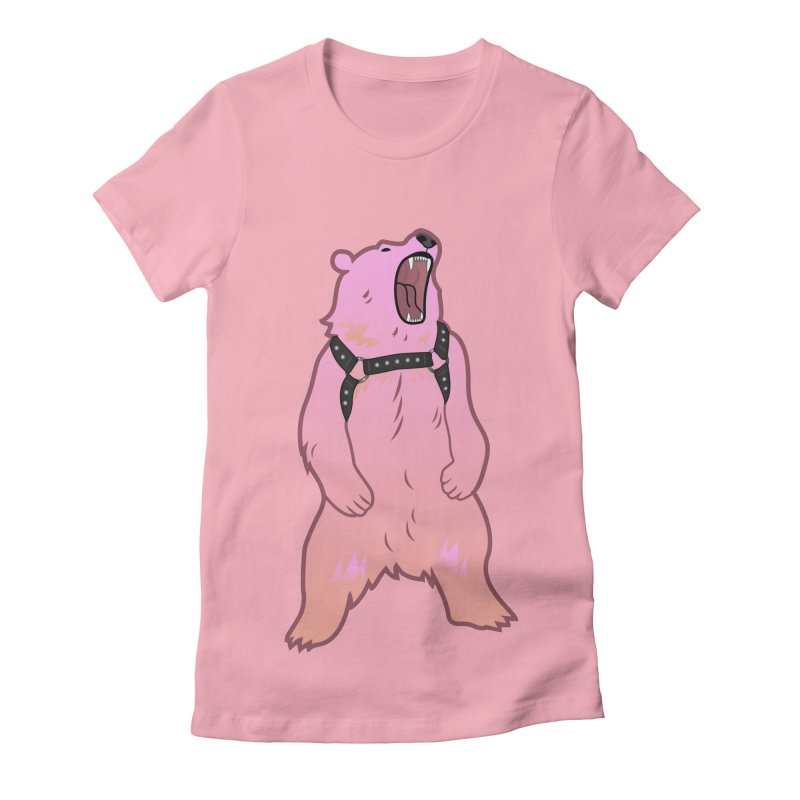 Daddy Bear Women's Fitted T-Shirt by stephendraws's Artist Shop