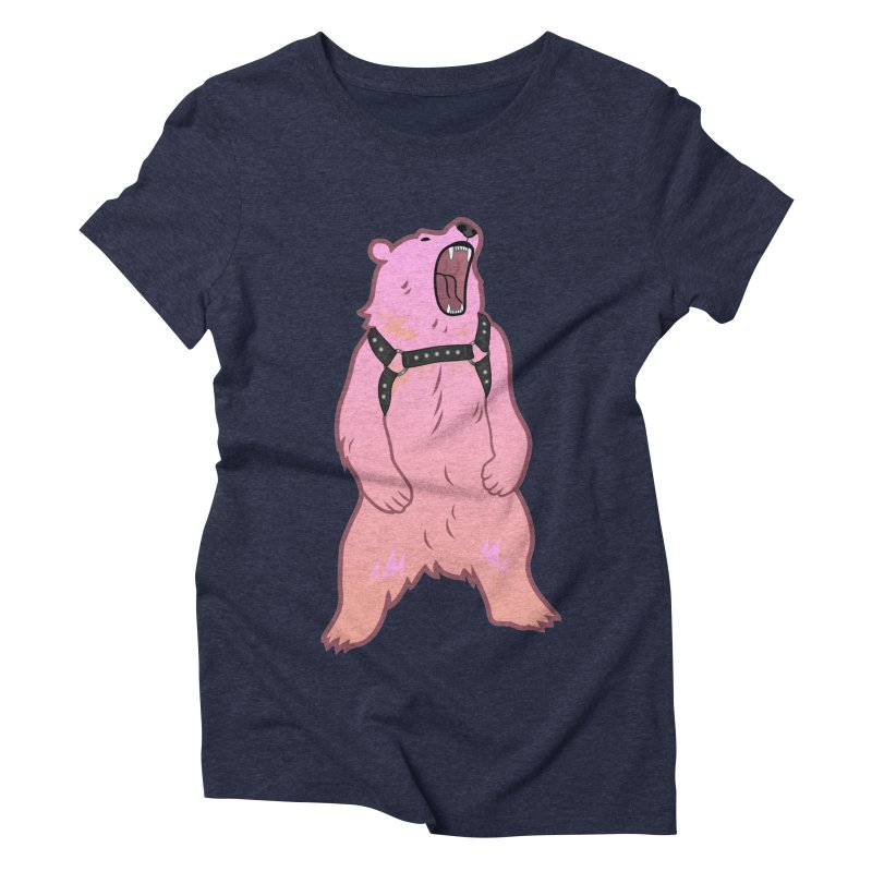 Daddy Bear Women's Triblend T-Shirt by Stephen Draws's Artist Shop